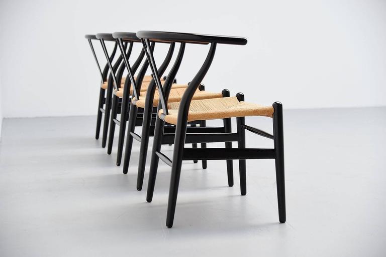 Hans Wegner Wishbone Chairs Carl Hansen, Denmark, 1949 3