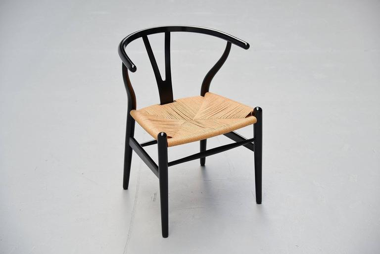 Hans Wegner Wishbone Chairs Carl Hansen, Denmark, 1949 5
