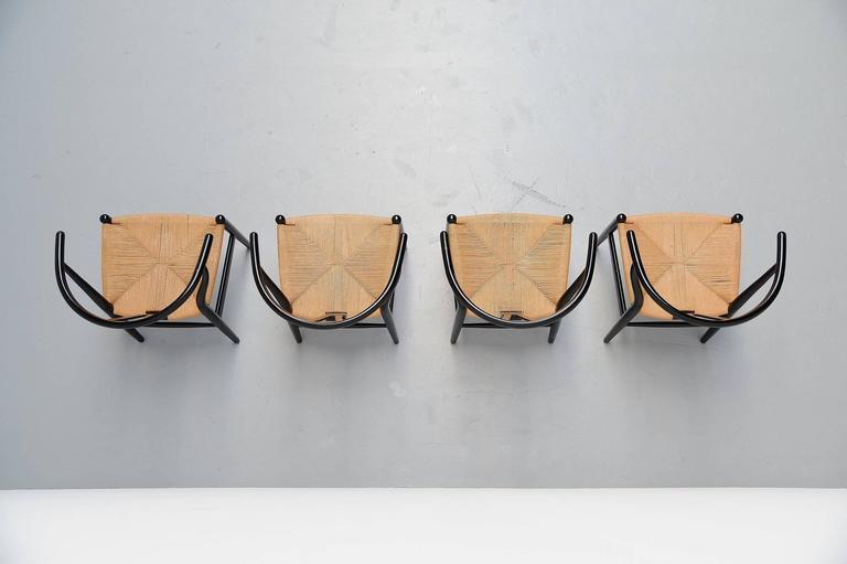 Hans Wegner Wishbone Chairs Carl Hansen, Denmark, 1949 4