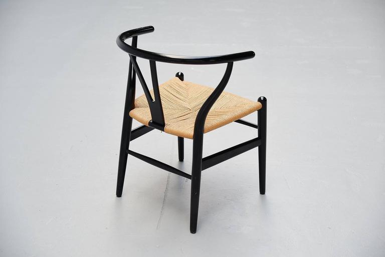 Hans Wegner Wishbone Chairs Carl Hansen, Denmark, 1949 7