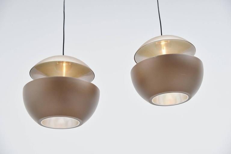 Late 20th Century RAAK Pendants Fontaine Jaillissante by Betrand Balas, 1970 For Sale