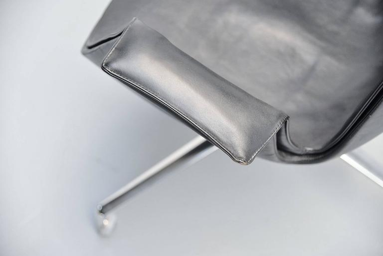 Stainless Steel Preben Fabricius Jorgen Kastholm Bird Chairs Kill, 1964 For Sale