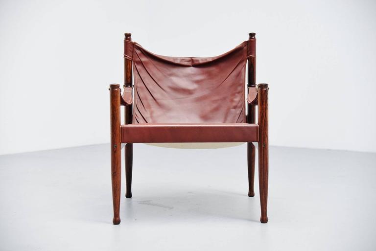 Erik Worts Safari Chair for Niels Eilersen, Denmark, 1960 2