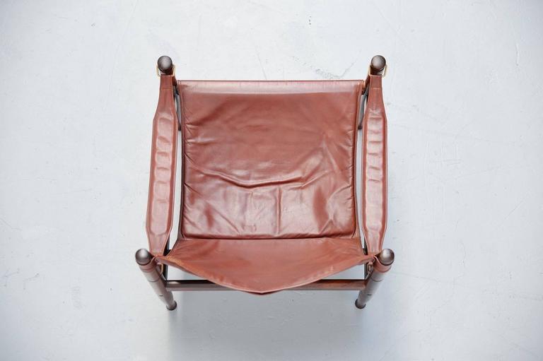 Erik Worts Safari Chair for Niels Eilersen, Denmark, 1960 6