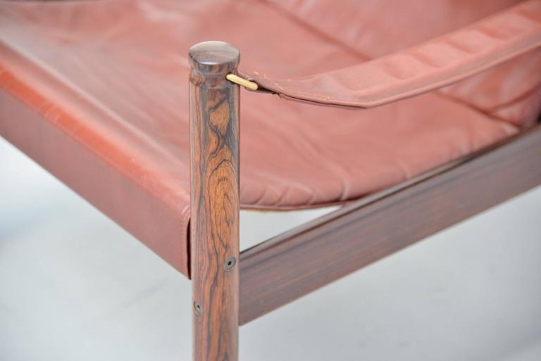 Erik Worts Safari Chair for Niels Eilersen, Denmark, 1960 5