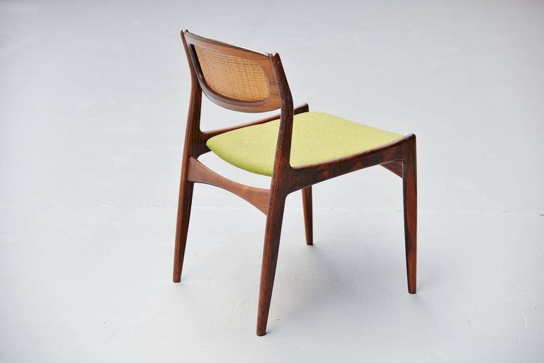 Ib Kofod Larsen Chairs by Christian Linneberg Denmark, 1960 For Sale 2