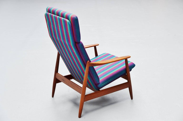 Mid-20th Century Poul Volther Lounge Chair by Frem Røjle, Denmark, 1960 For Sale