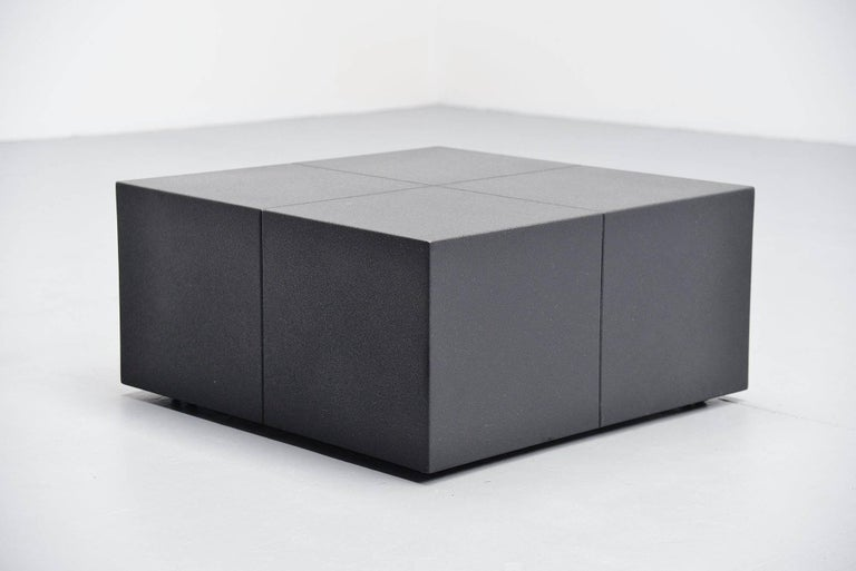 Dutch Claire Bataille Paul Ibens Coffee Table 't Spectrum, 1973 For Sale