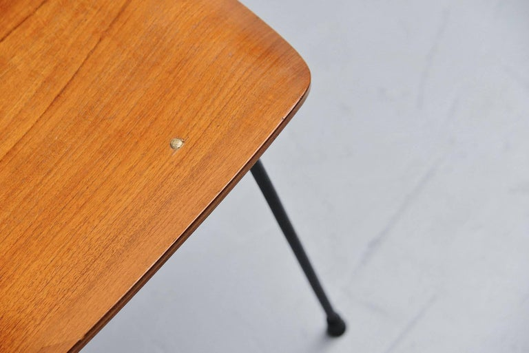 Teak Carlo Ratti Side Chair in Plywood by Legni Curva, Italy, 1950 For Sale
