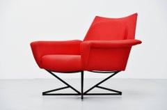 Gastone Rinaldi attributed lounge chair Italy 1955