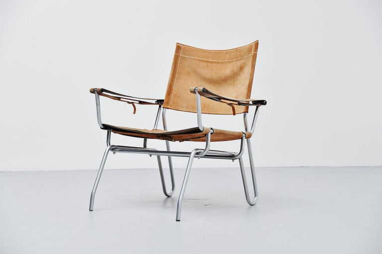 a dolleman easy chair for metz and co holland 1960 for sale at 1stdibs. Black Bedroom Furniture Sets. Home Design Ideas