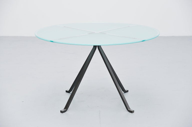 Mid-Century Modern Enzo Mari Cugino Dining Table Driade, Italy, 1973 For Sale