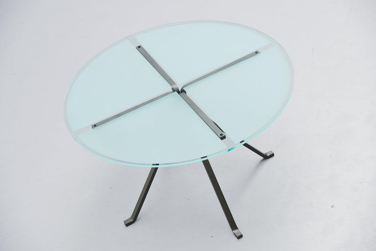 Italian Enzo Mari Cugino Dining Table Driade, Italy, 1973 For Sale