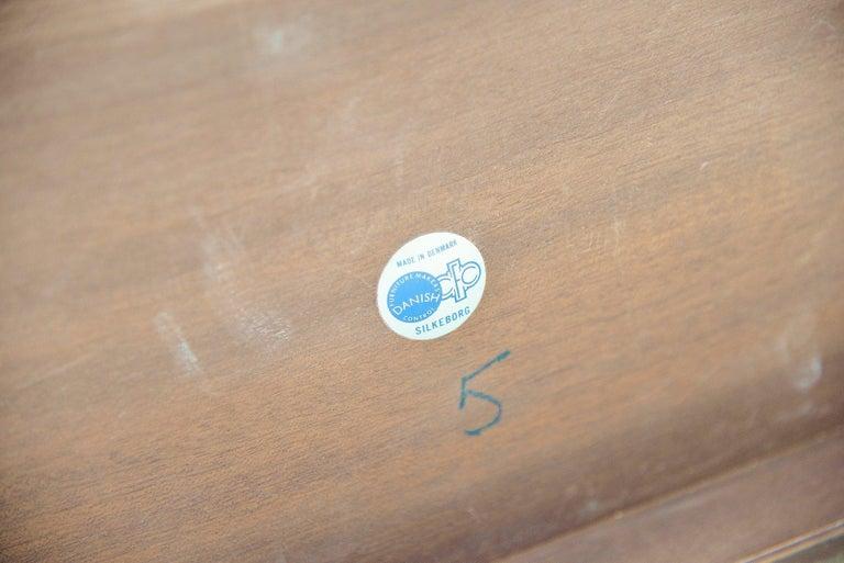 Johannes Andersen Moon Shaped Coffee Table Silkeborg 1960 For Sale 1