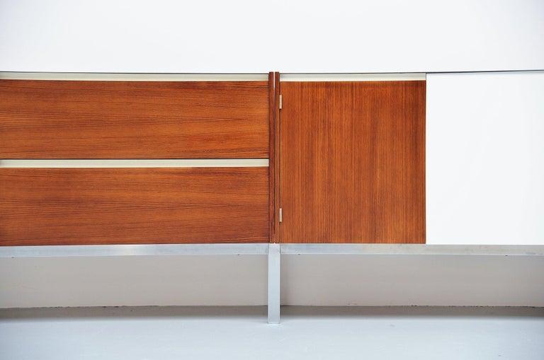 Mid-Century Modern Kho Liang Ie Long Sideboard Wim Crouwel Fristho, 1957 For Sale