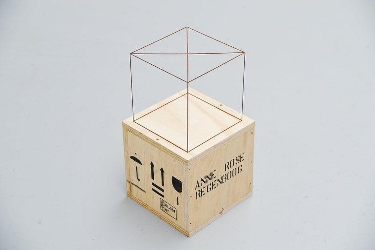 Anne Rose Regenboog Cross Circle Cubes, Den Haag 2015 For Sale 1