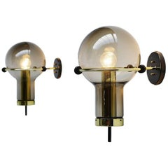 RAAK Maxi Globe Wall Lamps Holland, 1965