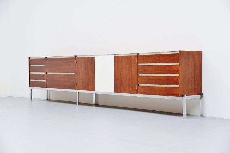 Kho Liang Ie Long Sideboard Wim Crouwel Fristho, 1957 For Sale 2