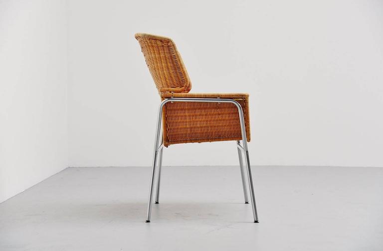 Mid-Century Modern Dirk van Sliedrecht armchair Rohe Noordwolde Holland 1969 For Sale