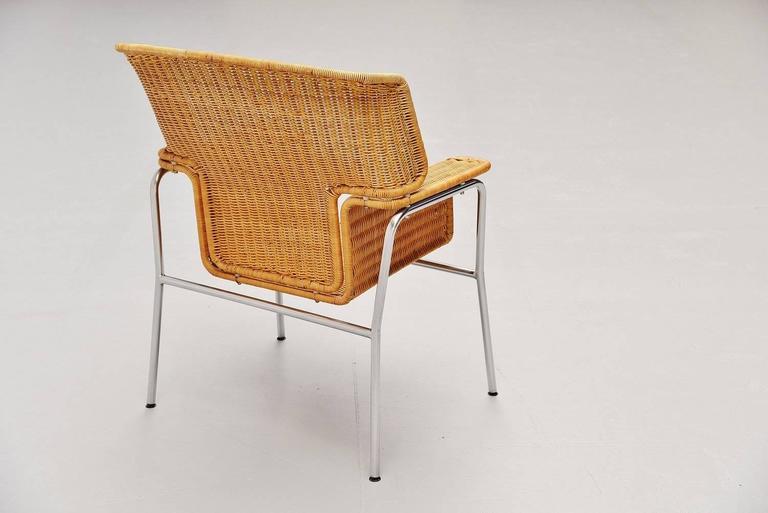 Dirk van Sliedrecht armchair Rohe Noordwolde Holland 1969 In Good Condition For Sale In Roosendaal, Noord Brabant