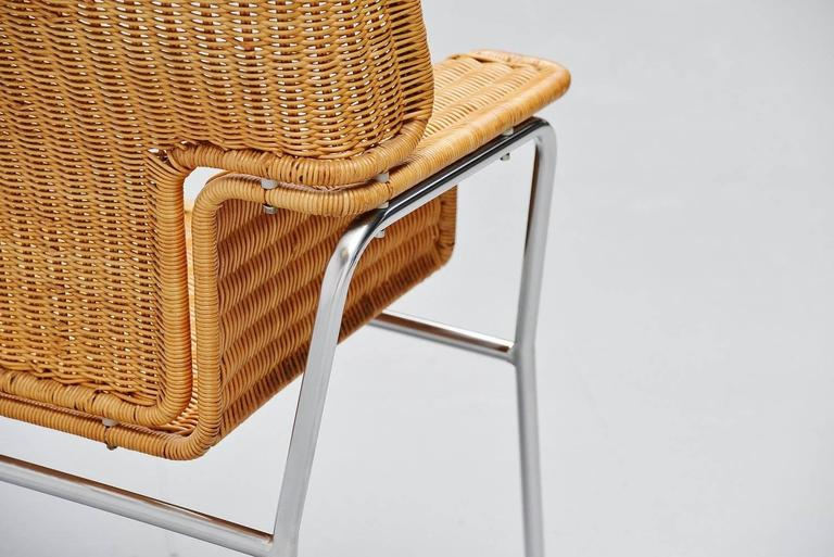 Mid-20th Century Dirk van Sliedrecht armchair Rohe Noordwolde Holland 1969 For Sale