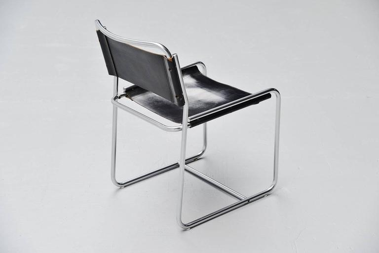 Mid-20th Century Claire Bataille & Paul Ibens dining chairs 't Spectrum 1971 For Sale