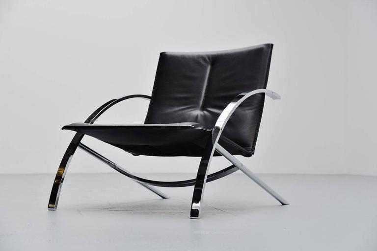 Paul Tuttle Arco Lounge Chair Str 228 Ssle 1976 At 1stdibs