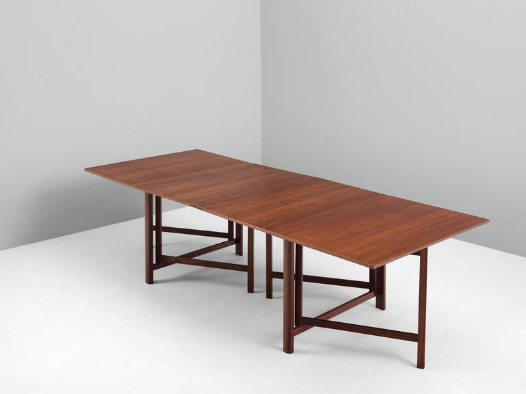 Bruno Mathsson Maria Drop leaf Table in Teak For Sale at  : 4243item42321l from www.1stdibs.com size 768 x 576 jpeg 21kB