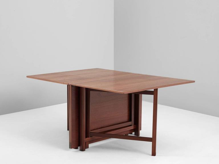 Bruno Mathsson Maria Drop leaf Table in Teak For Sale at  : 4243item42323l from www.1stdibs.com size 768 x 576 jpeg 18kB
