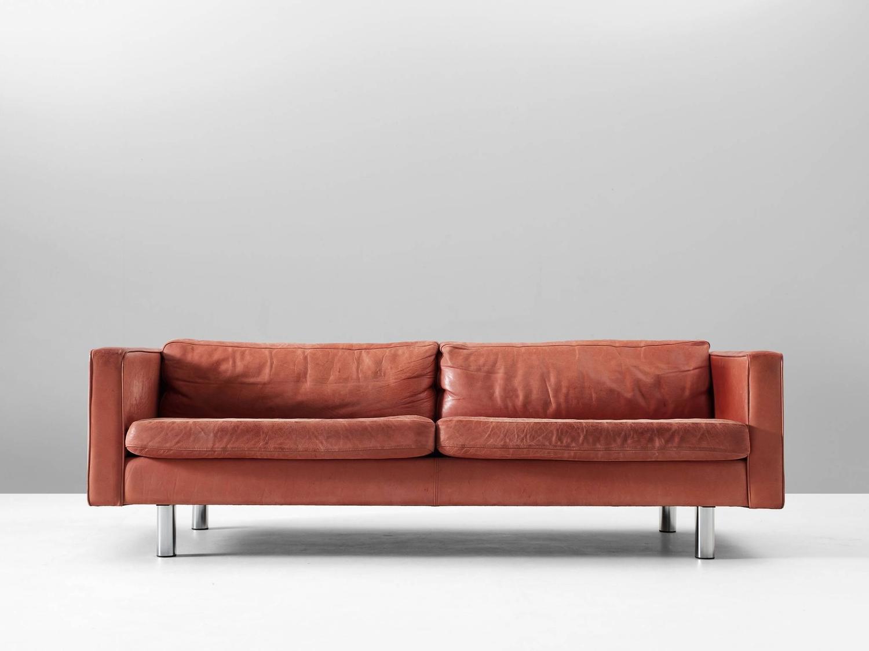 28 red sofa sale illums bolighus patinated red leather sofa