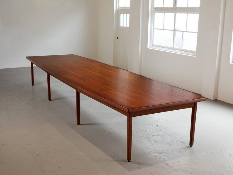 Danish Dining Table in Teak For Sale