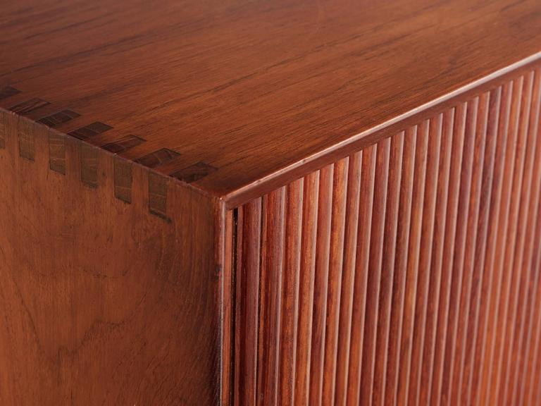 Danish Peter Hvidt & Orla Mølgaard Nielsen Sideboard in Teak For Sale