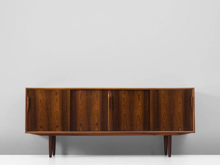 Danish Mid Century Sideboard In Rosewood For Sale At 1stdibs