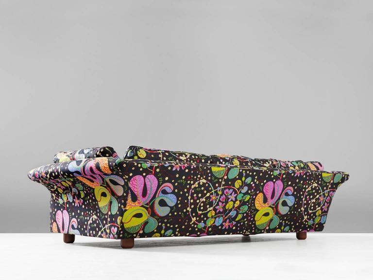 Awesome Scandinavian Modern Josef Frank U0027Liljevalchsu0027 Sofa In Colorful Fabric By J.  Frank For