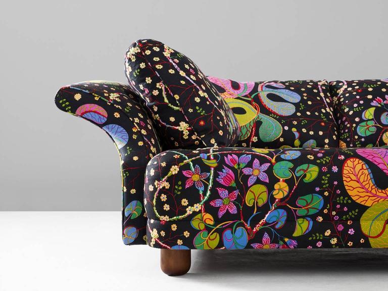 Superior Josef Frank U0027Liljevalchsu0027 Sofa In Colorful Fabric By J. Frank In Excellent  Condition