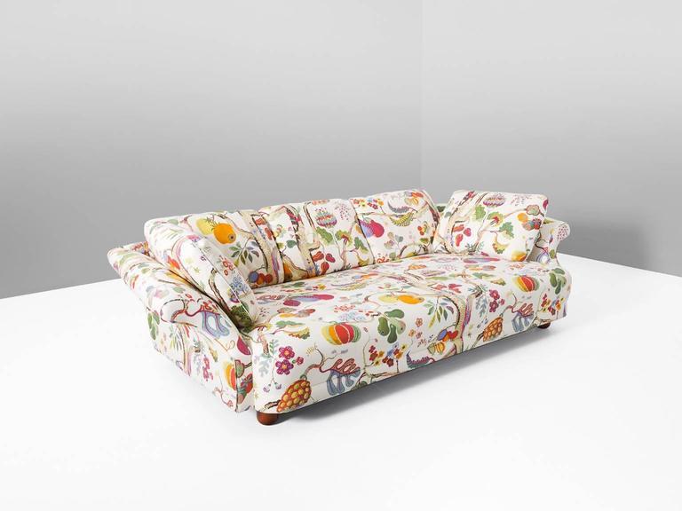 Good Swedish Josef Frank U0027Liljevalchsu0027 Sofa In Original J. Frank Fabric ... Good Looking