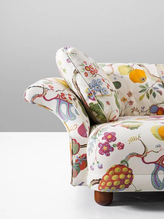 Art Deco Josef Frank U0027Liljevalchsu0027 Sofa In Original J. Frank Fabric ...