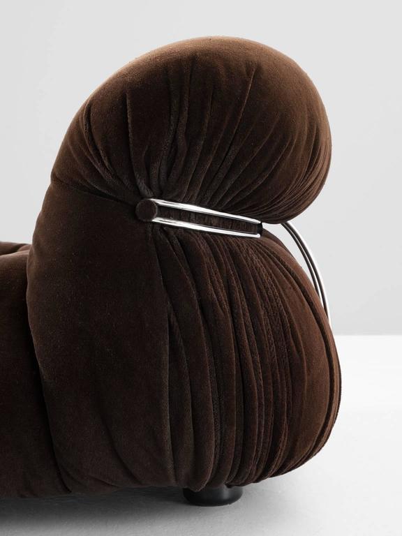 Afra & Tobia Scarpa 'Soriana' Lounge Chair and Ottoman 6