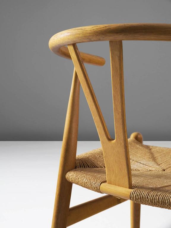Two Wishbone CH24 Hans Wegner Y Chairs 4