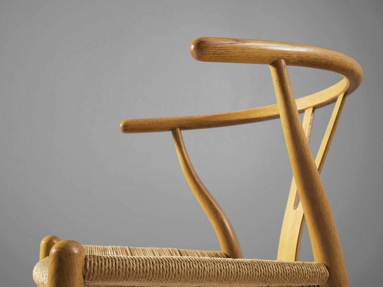 Two Wishbone CH24 Hans Wegner Y Chairs 5