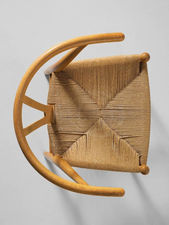 Two Wishbone CH24 Hans Wegner Y Chairs 7