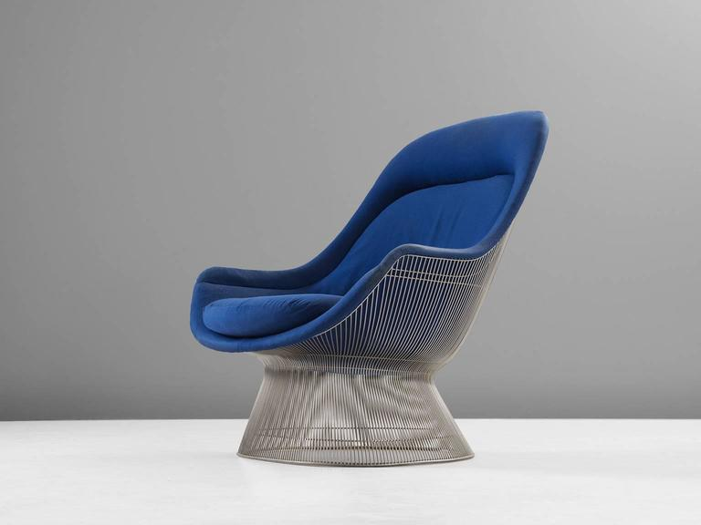 Warren Platner Easy Chair For Knoll For Sale At 1stdibs