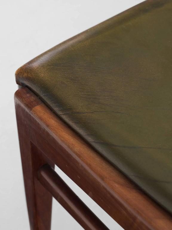 Scandinavian Dining Chairs in Walnut 8