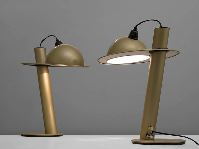 Pair of Table Lamps by Ettore Sottsass for Stilnovo 3