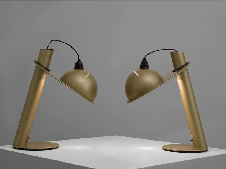 Pair of Table Lamps by Ettore Sottsass for Stilnovo 4