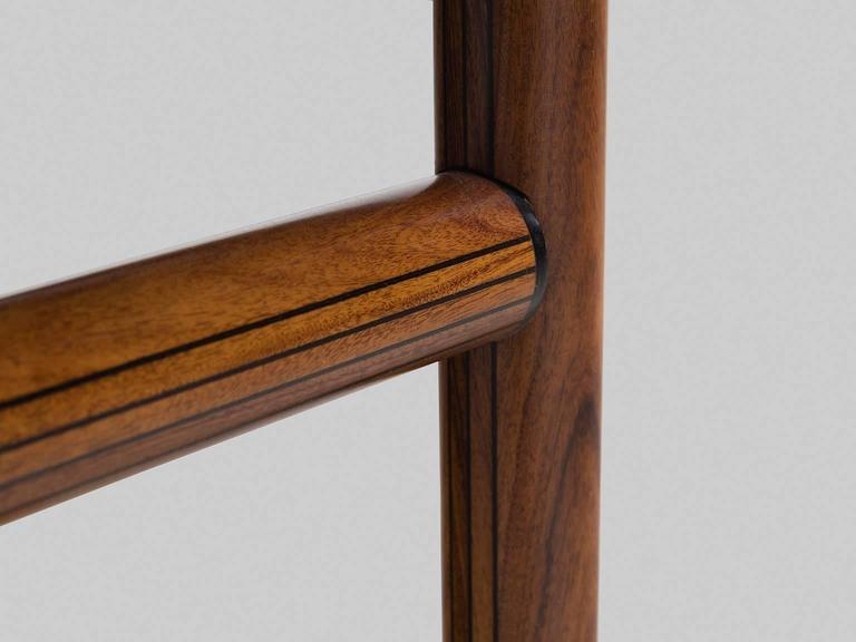 Afra and Tobia Scarpa Rare Set of of Dining Chairs in Walnut 7