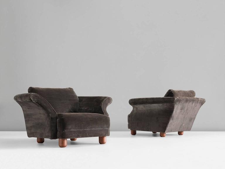 Mid Century Modern Josef Frank Pair Of U0027Liljevalchsu0027 Lounge Chairs ...