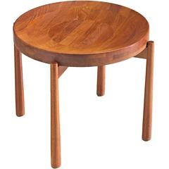 Jens Harald Quistgaard Side Table in Teak