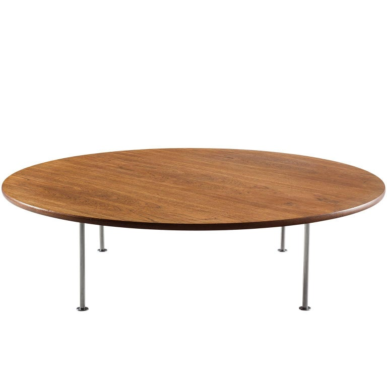5ft 150cm hans wegner grand coffee table in teak by for 5ft coffee tables