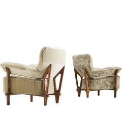 Pair of Theo Ruth for Artifort 'Gentleman' Armchairs